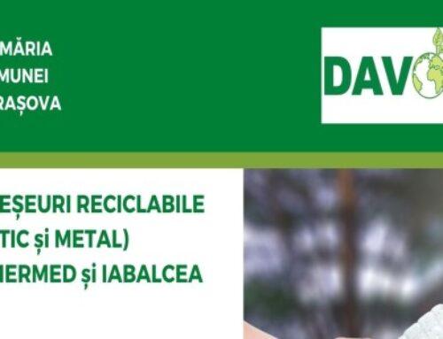 Colectare deșeuri reciclabile (plastic si metal)